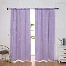dxycfa Blackout Blind Curtains Angel Wings Blackout Curtains Design Bedroom Living Room Dual Use Mold Resistant Antibacterial Easy Clean 220X 215 Cm