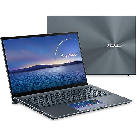 "ASUS ZenBook 15 Ultra-Slim Laptop, 15""FHD Touch Display, Intel Core i7-10750H, GeForce GTX 1650 Ti, 16GB RAM, 1TB SSD, Innovative ScreenPad 2.0, Thunderbolt 3, Windows 10 Pro, Pine Grey, UX535LI-XH77T"