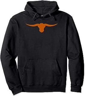 Lone Star State Pride Texas Long Horn Pullover Hoodie