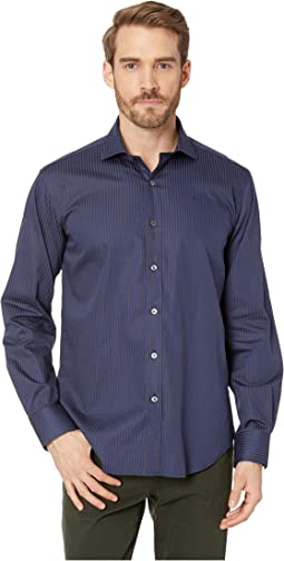 Long Sleeve Shaped Fit Woven Shirt