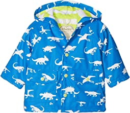 Hatley Kids - Colour Changing Dinosaur Menagerie Mini Raincoat (Infant)