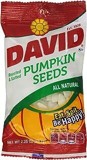 David's Pumpkin Seeds, 2.2500-ounces (Pack of12)