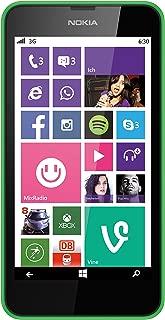 NOKIA Lumia 630 8GB Bright Green Factory Unlocked GSM 3G 2G (2G 850/900/1800/1900 & 3G 900/2100)