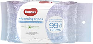 HUGGIES Cleansing On-the-Go Purse Pack, Scented, 24 Count