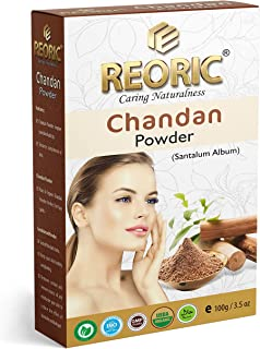 Reoric chandan powder original  Organic Sandalwood Powder  Chandan powder, face mask  Sandalwood Powder For Skin and body...