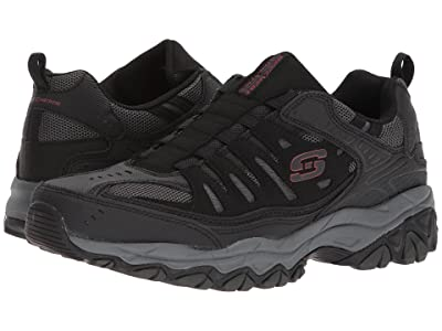 SKECHERS After Burn M. Fit (Black/Charcoal) Men
