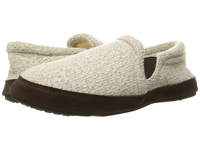 Acorn  Fave Gore (Grey Ragg Wool) Mens Slippers