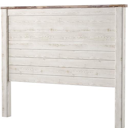 White Wood Headboards Amazon Com