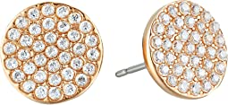 Kate Spade New York Shine On Pave Stud Earrings