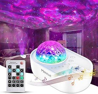 Merece Projecteur Ciel Etoile, 33 Modes Lampe Projecteur LED Étoile, Éclairage Planetarium Projecteur Luminosité Réglable ...