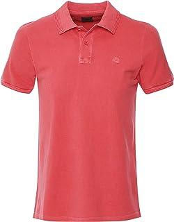 SUNDEK Men's Garment Dyed Maiden Polo Shirt Red