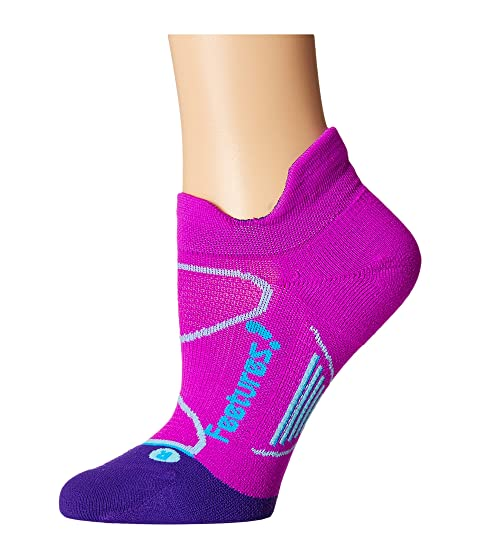 Paquete 3 pares de Elite Feetures Orchid Lagoon No Cushion Blue Show Pestaña Light 8qxYqRF