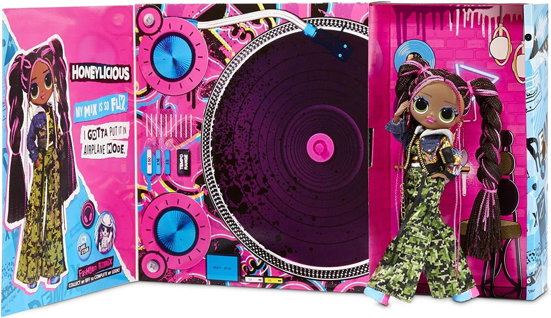 L.O.L Surprise OMG Remix Giochi Preziosi Rock Music 2er Pack Chico und M/ädchen