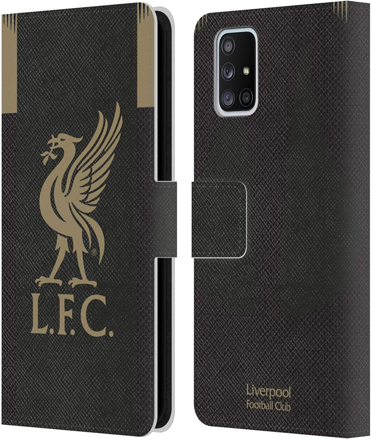 Official Liverpool Football Club Home 2019//20 Kit PU Leather Book Wallet Case Cover Compatible For Samsung Galaxy A71 5G 2020