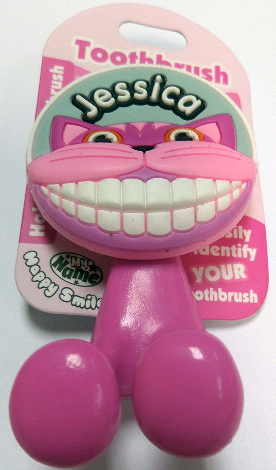 Jamie by Happy Smiles Toothbrush Holder ~ Kids//Children//Family ~ Names Starting with J
