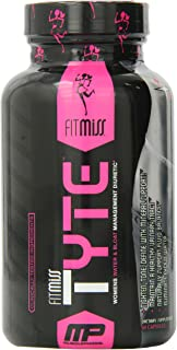FitMiss Tyte, Women's Water Management Diuretic, Tighten, Tone, Define with Mineral Support, 60 Count, 30 Servings
