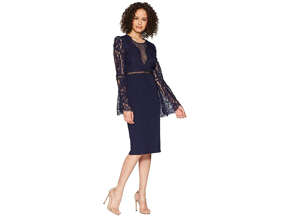 Bardot Faedra Lace Dress (Navy) Women
