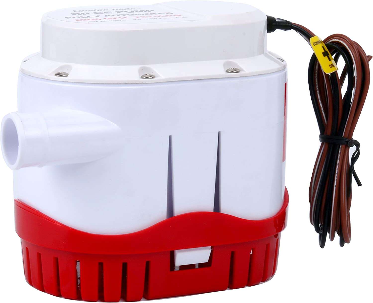 Amarine Made Automatic Submersible Boat In stock Water Fees free!! 200 12v Bilge Pump