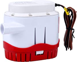 Best bilge pump built in float switch Reviews
