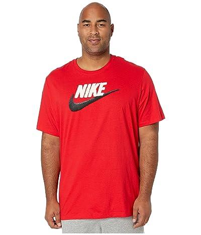 Nike Big Tall NSW Brand Mark Tee (University Red/Sail/Black) Men