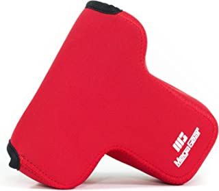 MegaGear MG891 Panasonic Lumix DMC-G85, G80, G81, G8 Ultra Light Neoprene Camera Case - Red