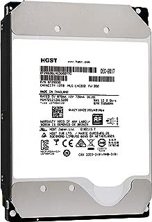 HGST Ultrastar DC HC520 HDD 12TB 7200 RPM SAS 12Gb/s Interface 3.5-Inch 512e ISE Helium Data Center Enterprise Internal Hard Disk Drive HUH721212AL5200 (0F29530)