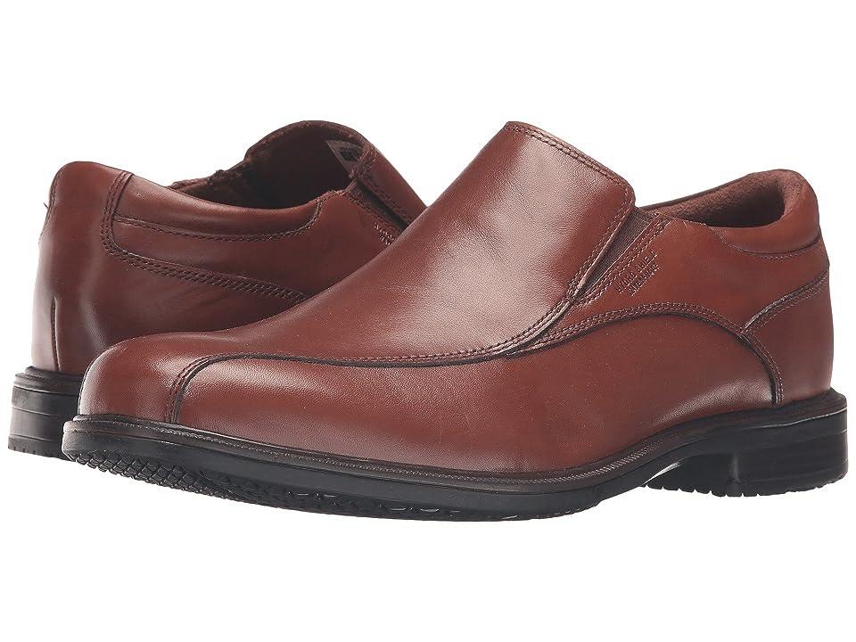 Rockport Essential Details II Waterproof Bike Toe Slip-On (Tan Antique Leather) Men