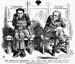 Lincoln Cartoon 1864 NuS President Abraham Lincoln And Confederate President Jefferson Davis In An English Cartoon By John Tenniel On The Complications Arising From The American Civil War 1864 Poster