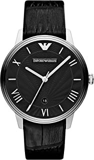 Emporio Armani Men's Quartz Watch with Stainless-Steel Strap