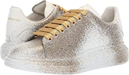 Spray Gold Sneaker