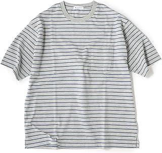 [シップスジェットブルー] Tシャツ (0327)JB:ASSORT BDR TEE 122110296 メンズ