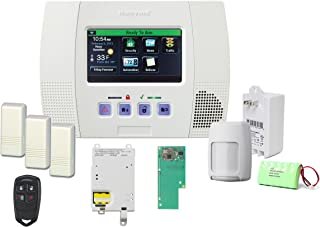 Honeywell Lynx Touch 5100 Wireless Alarm GSMVLP5-4G and Zwave Home Automation Starter Kit