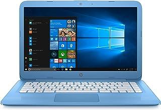 HP Stream Laptop PC 14-ax040nr (Intel Celeron N3060, 4 GB RAM, 64 GB eMMC, Blue) Windows 10,