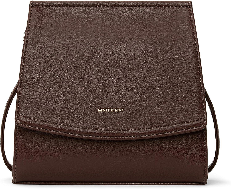 Matt Nat Max 49% OFF Vegan Handbags Erika Dwell - Detroit Mall Crossbody 10 Black Bag