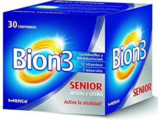 Bion 3 Senior Complemento Alimenticio - 30 Tabletas