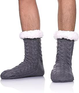 Best mens fleece lined slipper socks Reviews