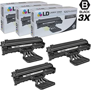 LD Compatible Toner Cartridge Replacement for Dell 310-6640 J9833 (Black, 3-Pack)