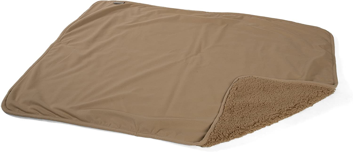 Best Friends by Sheri Pet Throw Blanket/Toy, for Dogs & Cats Beige Pet Throw Blanket