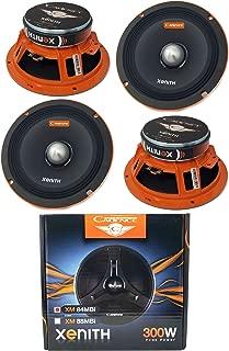 (4) Cadence XM84MBi 8 Inch 1200W Midrange Loud Speaker Bullet 4Ohm Car Audio
