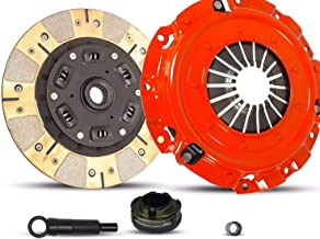 Clutch Kit Works With Mazda 3 5 GS-SKY GT GX i Gs S Sport Touring 2004-2013 2.0L 2.3L 2.5L l4 GAS DOHC Naturally Aspirated (Dual Facing Disc Stage 2)