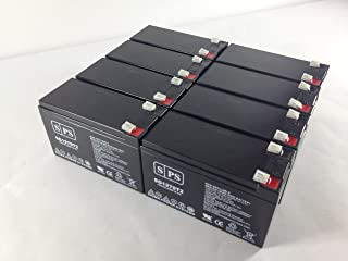 12V 7Ah (From SPS) APC SUA3000RMXL3U UPS Replacement Battery (8 Pack)