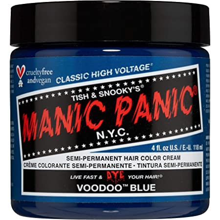 MANIC PANIC Voodoo Blue Hair Dye Classic