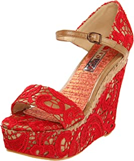 Two Lips Women's Bamboo Wedge Sandal