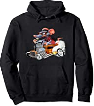 Rat Rod Drag Racing Old School Cars Rat on top Hot Rod Gift Pullover Hoodie