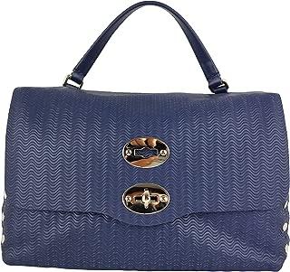 Luxury Fashion   Zanellato Womens 61386035 Blue Shoulder Bag   Fall Winter 19