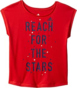 adidas Kids Graphic Tee (Toddler/Little Kids)