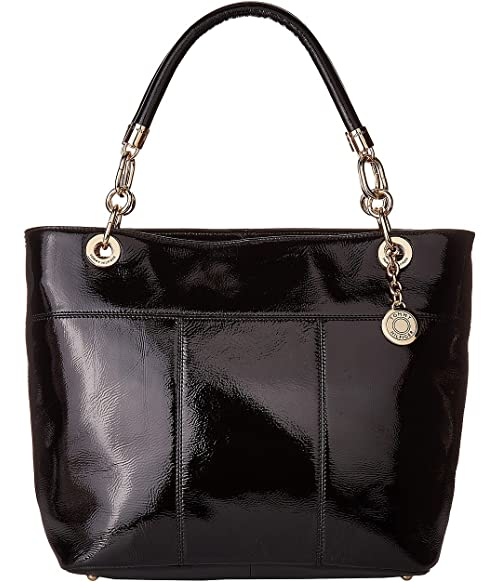 865bd6261e485e Tommy Hilfiger TH Signature - Top Zip Tote - Cracked Patent Leather ...