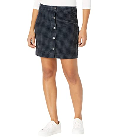 Toad&Co Cruiser Cord Skirt (Nightsky Houndstooth Print) Women