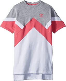 adidas Originals Kids - Modern French Terry Dress (Little Kids/Big Kids)