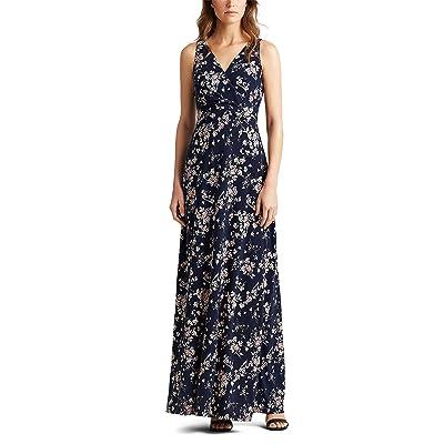 LAUREN Ralph Lauren Aariane Dress (Lighthouse Navy/Blush/Multi) Women